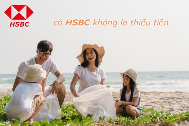 Hướng dẫn vay tiền HSBC online